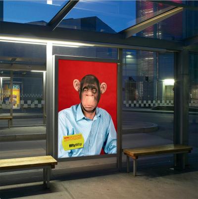 Die fiftyfifty Galerieplakate