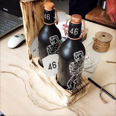 Eine Flasche macht Karriere