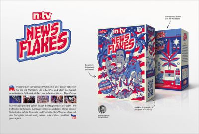Die n-tv NewsFlakes